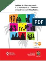 Propuesta Pedagogica Educaci n Para La Sexualidad FINAL