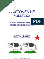 Las Vacas-lecciones de Politica