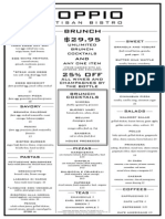 doppio full brunch menu