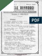 Analele Dobrogei  Revista Societăţii Culturale Dobrogene, 02, nr. 02, aprilie-iunie 1921