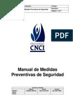 Manual de Me Did as Prevent i Vas de Seguridad
