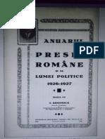 Anuarul Presei Romane 1923
