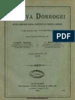Arhiva Dobrogei Revista Societăţii pentru Cercetarea şi Studierea Dobrogei. Volumul 2, 1919