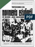 66552040 Movimiento Estudiantil en Mexico Julio Noviembre 1968 Revista ESPEJO No 6 PRIMERA Parte
