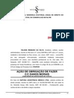 (Inicial) Obrigação de Fazer - Plano de Saúde - Manutenção - Empregada Dispensada Imotivada.pdf