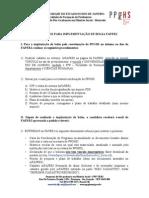 Documentos Para ImplementaçÃo de Bolsa FAPERJ