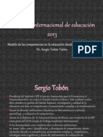 Congreso internacional de educación 2013