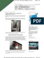 Dipolo Elétrico_ Cabines de Média Tensão - Manutenção Negligenc
