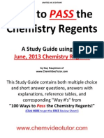 eBook - Chemistry Regents Study Guide2013