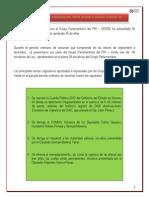 Resumen y Comentarios Principales Temas Periodo Ordinario Sep Dic 13