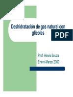 Deshidratacion de Gas Natural Con Glicoles