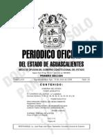 Reglamento Interior Proespa Publicado 16-Jun-08