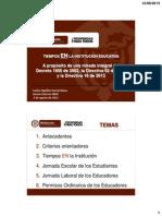 LOS TIEMPOS EN LA INSTITUCION DTO_1850 DIRECTIVAS 02 2012 Y 16 2013.pdf