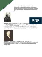 Biografias Adam Smith, David Ricardo, Stalley....