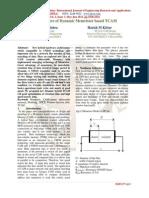 4-Transistors of Dynamic Memristor Based TCAM