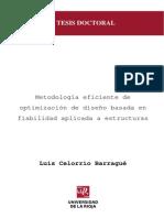 2 Metodologia Eficiente de Optimizacion de Diseno Basada en Fiabulidad Aplicada a Estructuras