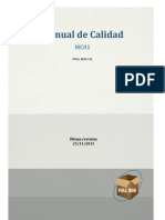 MC01 - Manual de Calidad