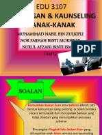 EDU 3107 B&K (Afzan,Paah&Nabil)