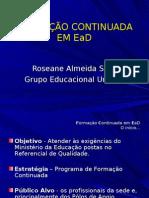 Roseane Almeida da Silva - UNINTER