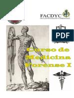 Curso de Medicina Forense I