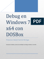 Debug en Windows 7 x64 con DOSBox