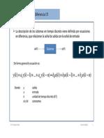 Ecuaciones en Diferencia y FTP 2013-2