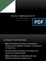 Rocas y Minerales de PR