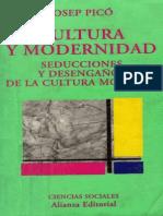 Pico, Josep - Cultura y Modernidad