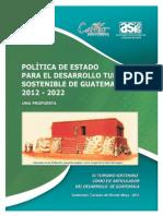 Politica de Estado Turismo Al 1-02-12 0