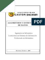 Manual de Algoritmosy Estructura de Datos