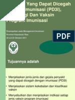 PD3I Imunologi & Vaksin