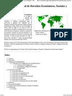 Pacto Internacional de Derechos Económicos, Sociales y Culturales - Wikipedia, la enciclopedia libre