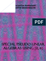 Special Pseudo Linear Algebras Using [0, n)