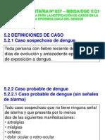 Definiciones Dengue y Febril