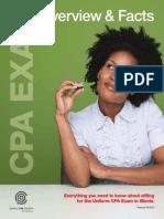2013 CPA Exam FAQ Brochure