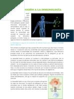 Capitulo 1 de Inmunologia Resumen Regueiro