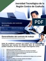 contratos con ley federal del trabajo