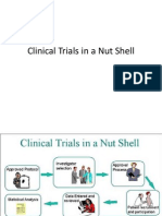 Clinical Trials in a Nut Shell
