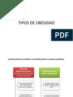 TIPOS DE OBESIDAD PRESNTACAIÓN