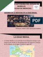 Historia de La Medicina en La Edad Media
