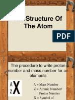 2.2 (d) Atomic Structure