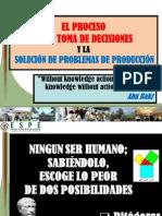 Pi - 1.2 El Proceso en La Toma Decisiones - Marzo 2013