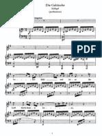 Schubert - Gebusche, Die (Schlegel)
