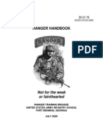 ranger handbook - united states army sh 21-76