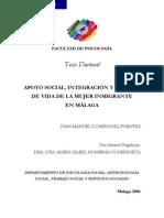 Tesis Mujeres Pros en Malaga