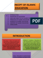 Ctu 082 Chapter 1 the Concept of Islamic Education