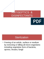 antisepticsanddisinfectants