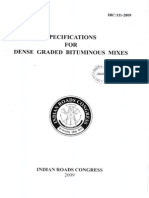 IRC 111 2009_Dense Graded Bituminous