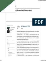 S.I.a (Sistema de Informacion Administrativa)