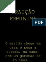 Traicao feminina
